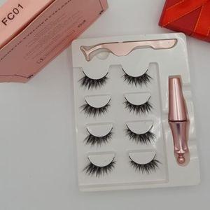 Other - Resuable Magnetic Eyelashes #FC01 (4 Pairs)